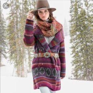 Sundance Catalog | Lambswool Blanket Coat Cardigan